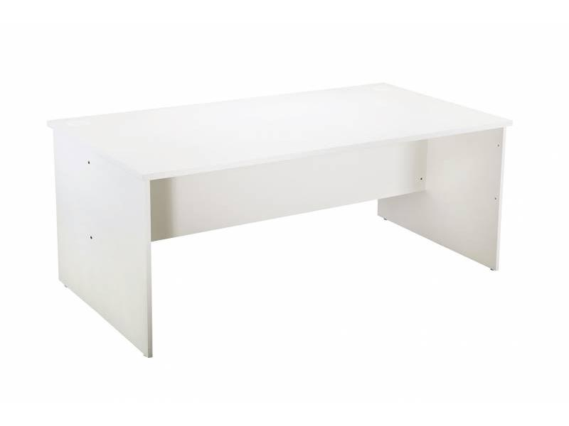 1800 Worker Desk- White