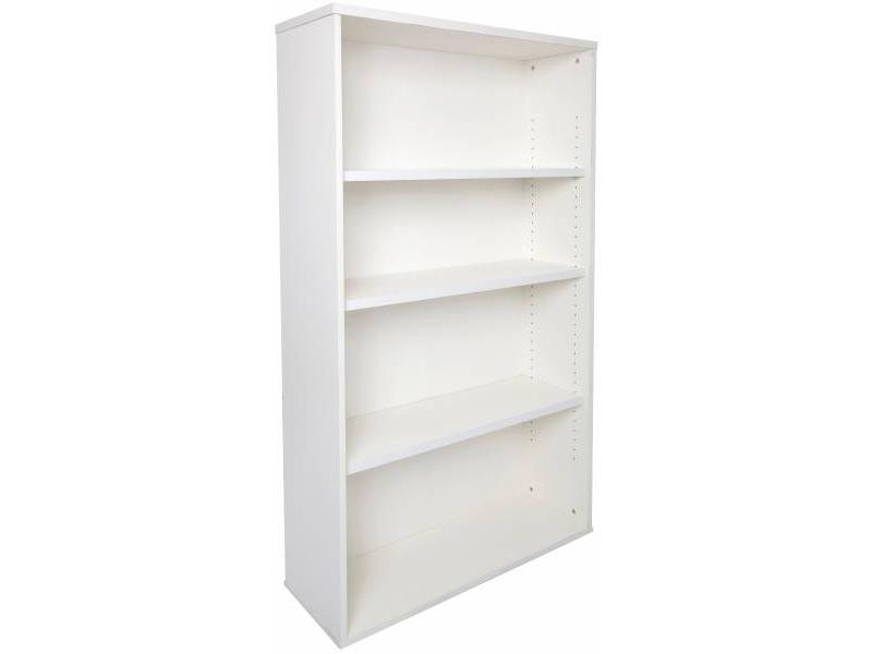 Bookcase 1800 Span- White