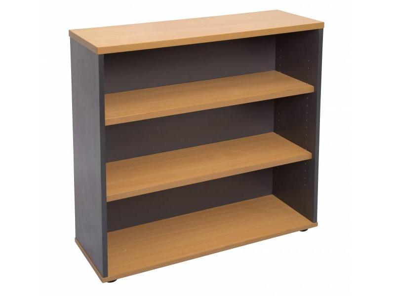 Bookcase 900 Worker- Beech
