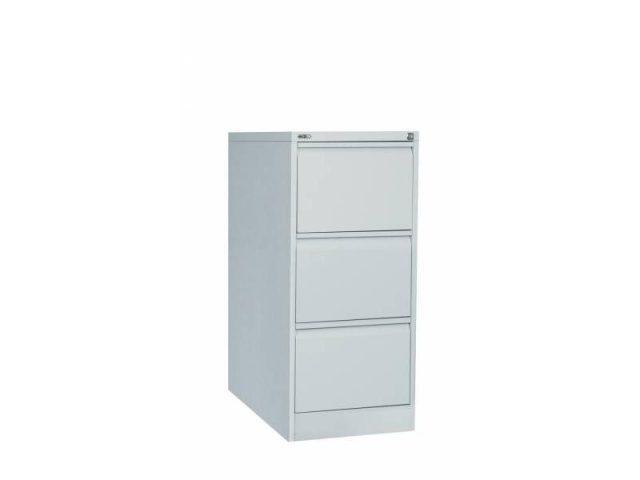 3 Drawer Filing Cabinet - Grey