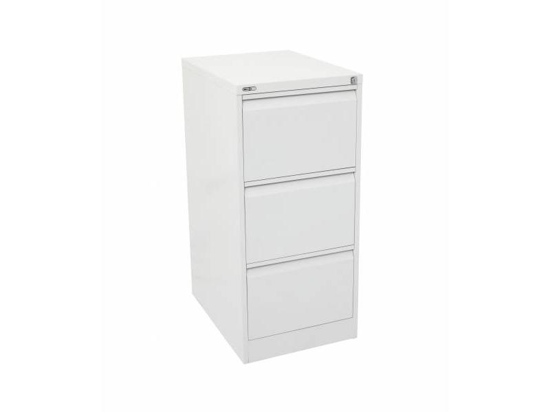3 Drawer Filing Cabinet - White