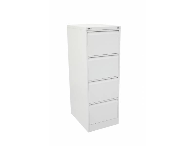 4 Drawer Filing Cabinet - White