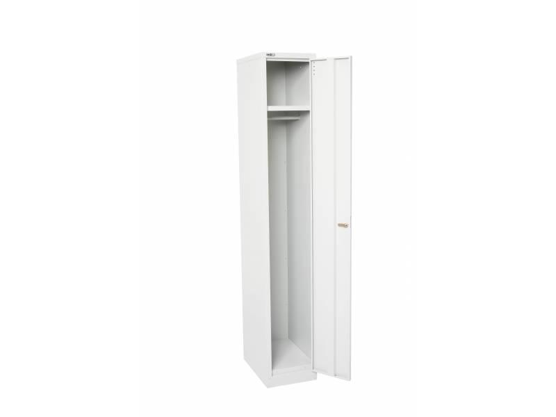 Lockers - 1 Door 305: White