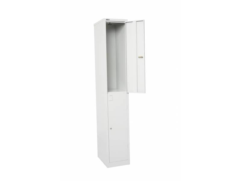 Lockers - 2 Door 305: White