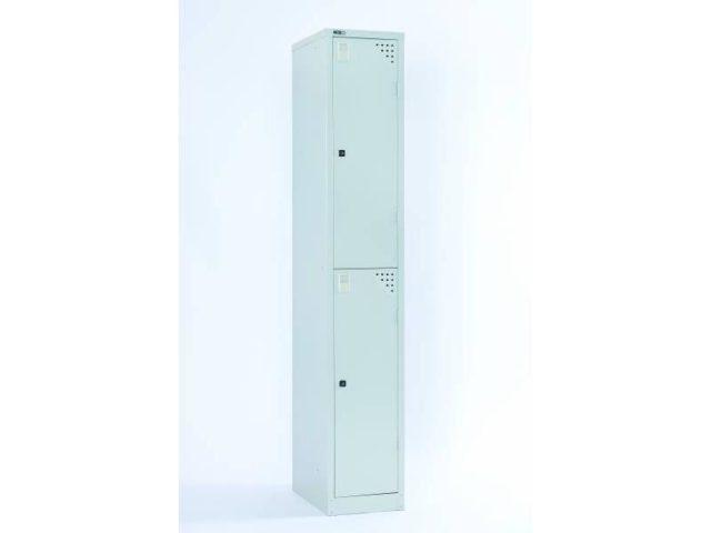 Lockers - Two Door 305: Grey