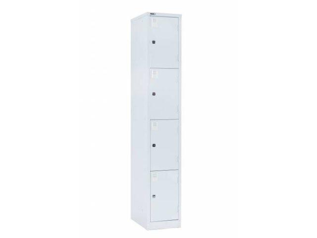 Lockers - Four Door 305: Grey