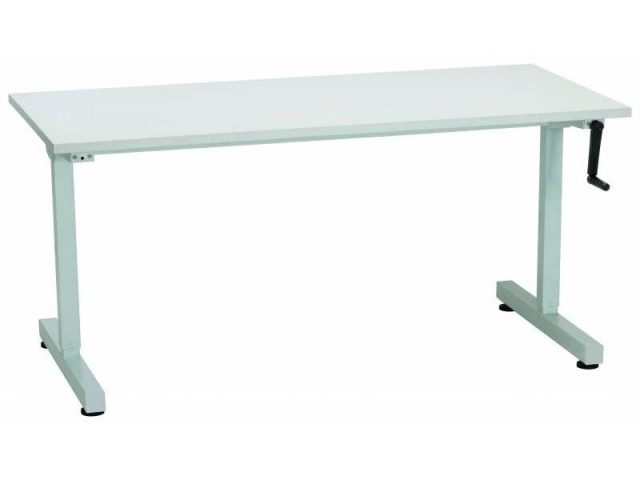 Manual Height Adjustable Desk- 1800/700
