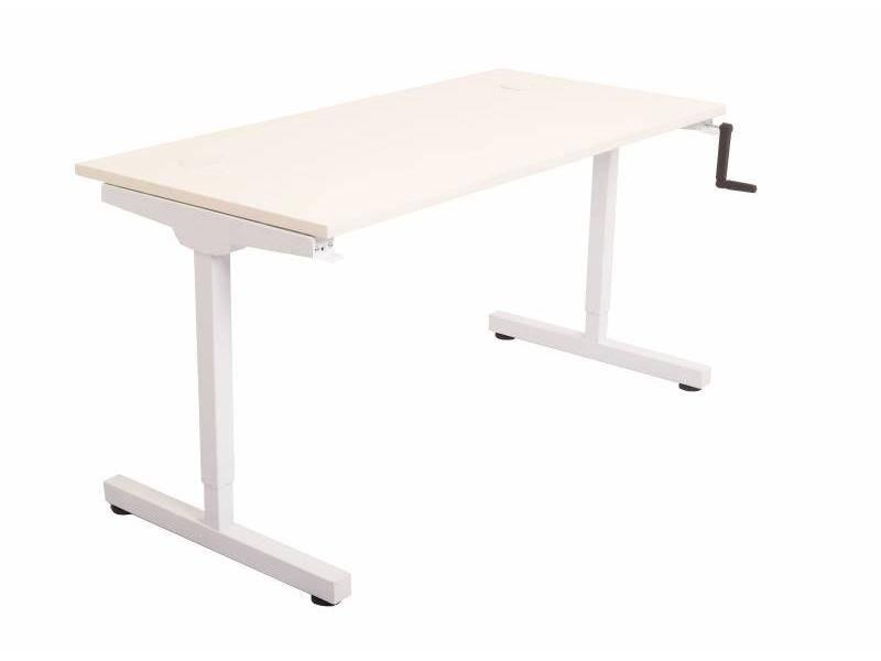 Manual Height Adjustable Desk- 1200/700
