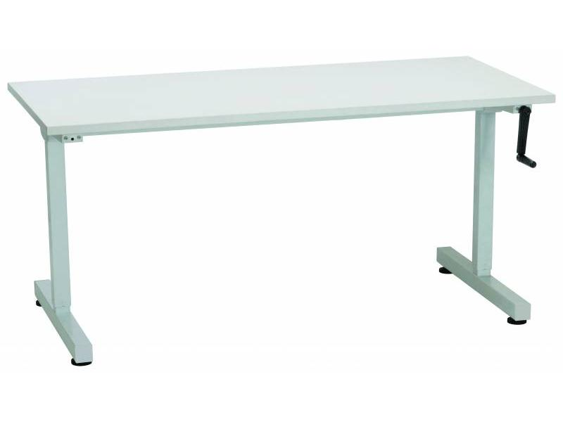 Manual Height Adjustable Desk- 1800/700