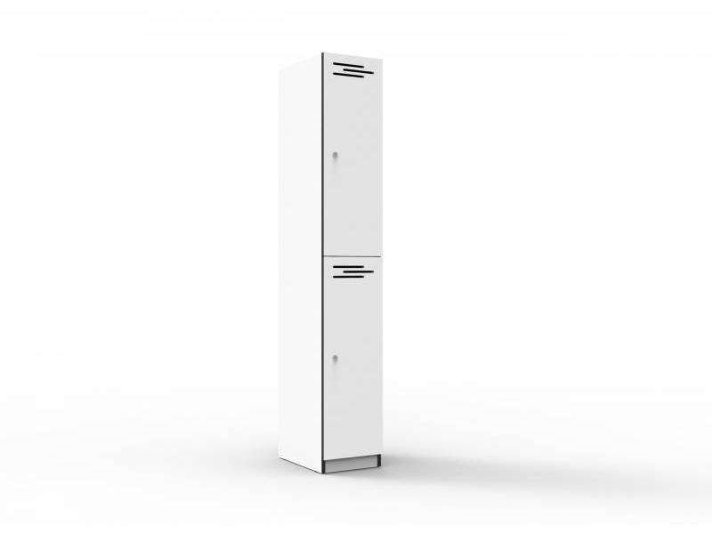 Melamine Lockers - 2 door 305mm