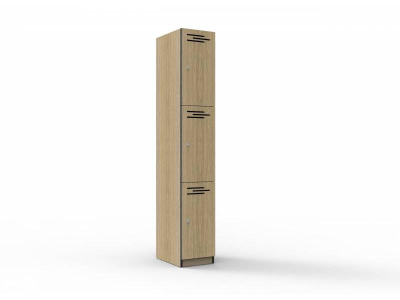 Melamine Lockers - 3 door 305mm