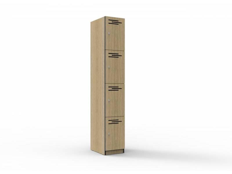 Melamine Lockers - 4 door 305mm