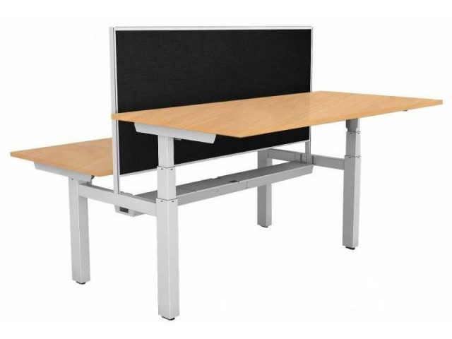 Electric Height Adjustable 2 Person Desk- 1800/750